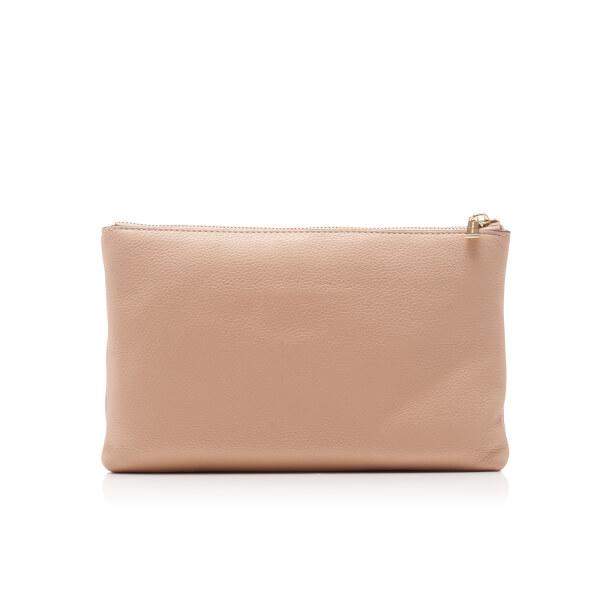 4d5e504f5a6e MICHAEL MICHAEL KORS Women s Adele Double Gusset Cross Body Bag - Oyster   Image 4