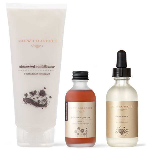 Grow Gorgeous The Gorgeous Shine Routine (Worth $80)