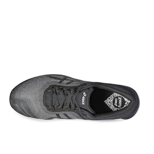 82202a1ed00e Asics Running Men s FuzeX Rush Running Shoes - Mid Grey Black Sports ...