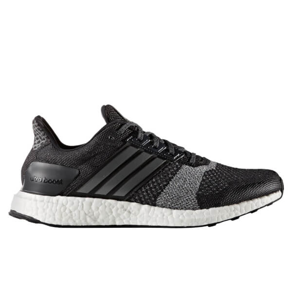 adidas Men's Ultra Boost ST Running Shoes - Core Black ...