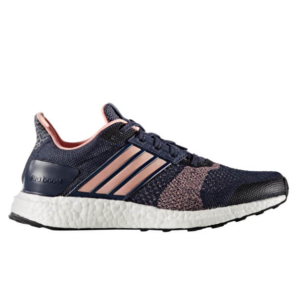 Adidas  mujer 's ultra Boost St corriendo zapatos Midnight GRIS Sports
