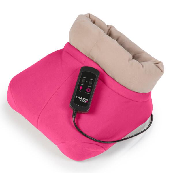 Carmen C84004 Foot Warmer and Massager - Pink
