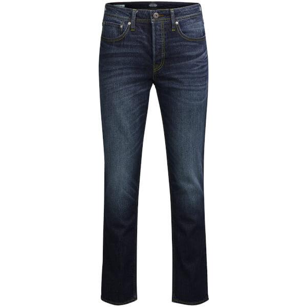 Jack & Jones Men's Originals Tim Slim Fit Jeans - Blue Denim