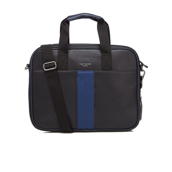 ba49495a44b Ted Baker Men's Mesrine Webbing Document Bag - Black: Image 1