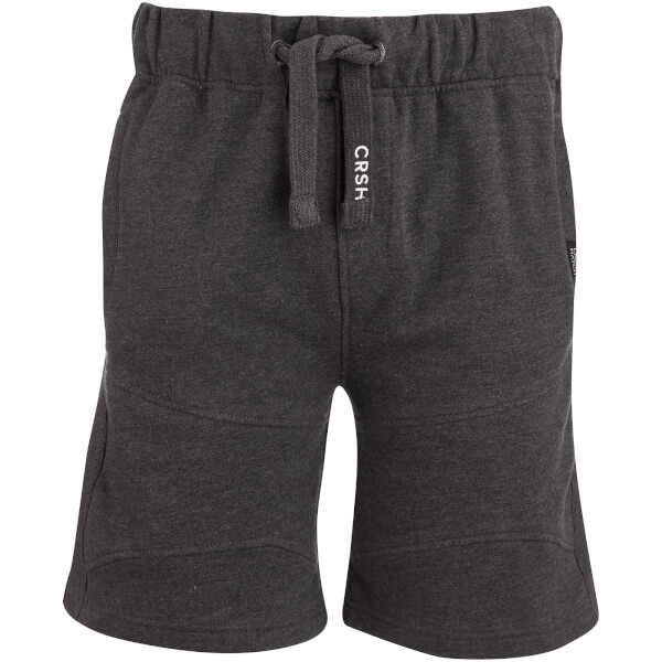 Crosshatch Men's Conserv Jog Shorts - Charcoal Marl