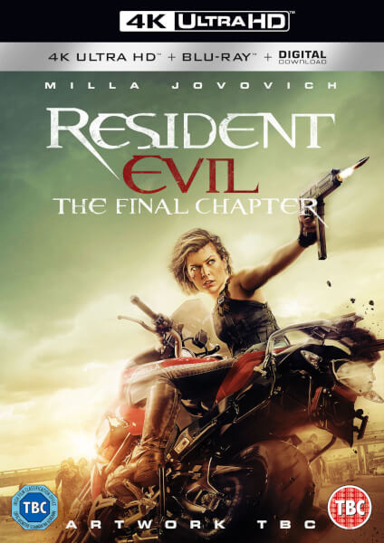 Resident evil the final chapter 4k ultra hd includes uv copy blu ray - Resident evil final chapter 4k ...