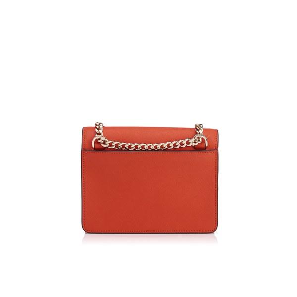 d04f0d7ec4a DKNY Women s Bryant Park Mini Flap Cross Body Bag - Orange  Image 4