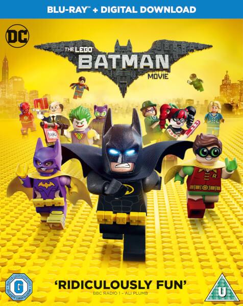 The LEGO Batman Movie Blu-ray | Zavvi.com