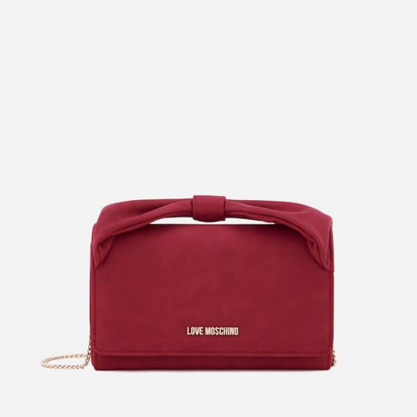 Love Moschino Women's Bow Cross Body Bag - Red