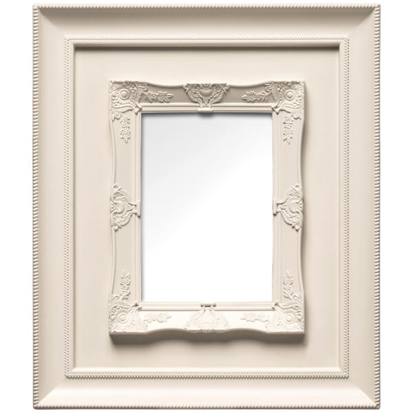 Cadre Rococo 13 cm x 18 cm -Beige