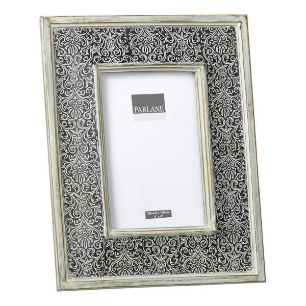 Cadre Treviso Parlane - Noir/Blanc (25 x 20 cm)