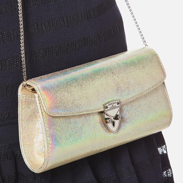 af8384cc43 Aspinal of London Women s Mini Eaton Clutch Bag - Rose Gold  Image 3
