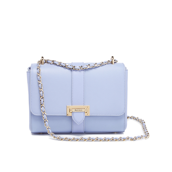 77f0cf3da2fe Aspinal of London Women s Lottie Bag - Misty Blue Womens Accessories ...