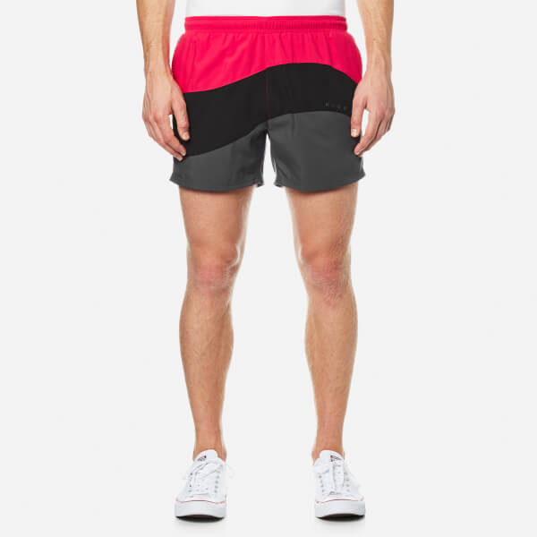 BOSS Hugo Boss Men's Butterflyfish Swimshorts - Open Pink