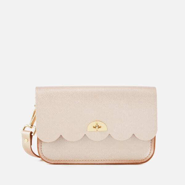 The Cambridge Satchel Company Women's Small Cloud Bag - Rose Gold Celtic Grain