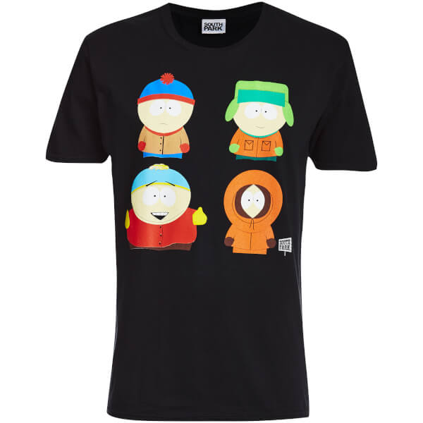 T-Shirt Homme South Park Character - Noir