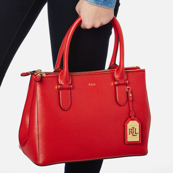 Ralph Lauren Women s DB Zip Shopper Bag - Cayenne  Image 3 9c0815da9cb03