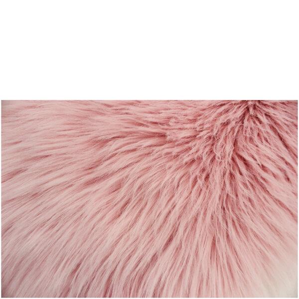 Flair Faux Fur Rug Sheepskin Pink 60x90 Iwoot