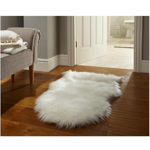 Flair Faux Fur Rug - Sheepskin Cream (60X90) Homeware
