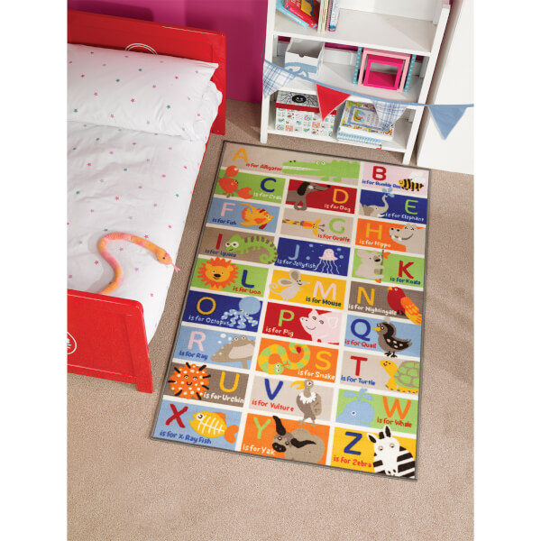Tapis Matrix Kiddy Flair Rugs - ABC (100X160)