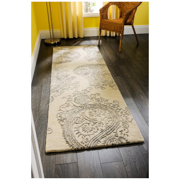 Flair Mayfair Park Rug - Grey (60X230)