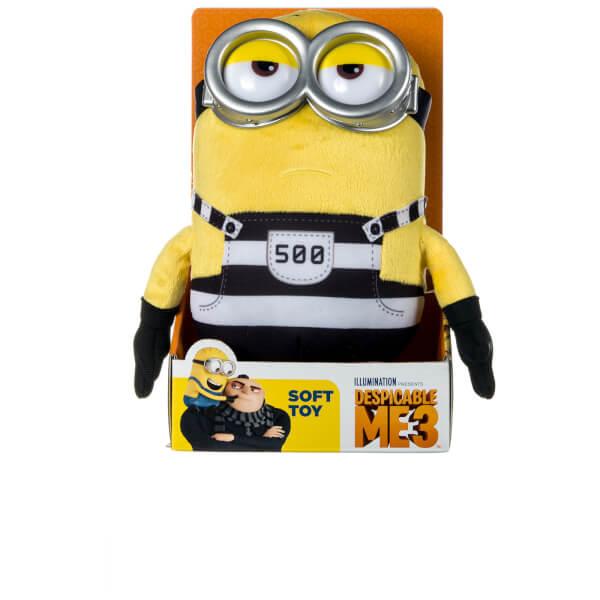 Despicable Me 3 Jail Tom Plush Toy - Medium