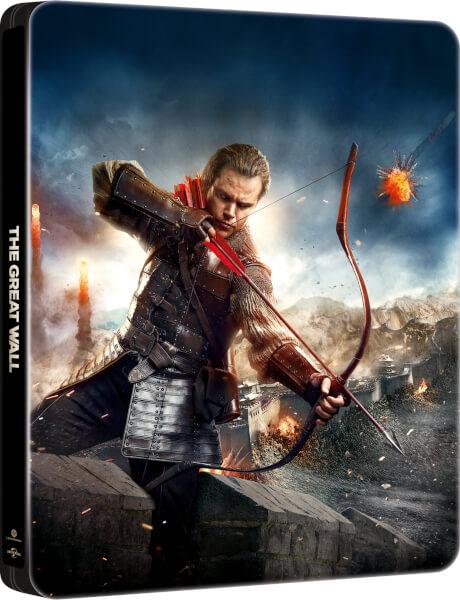 The Great Wall - Zavvi Exclusive 4K Ultra HD Steelbook (Includes 2D Blu-ray)