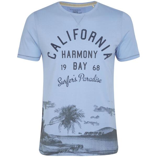 T-Shirt Homme Norton Cove Tokyo Laundry - Bleu Clair