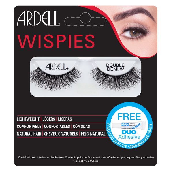 Ardell Double Up Demi Wispies False Eyelashes - Black