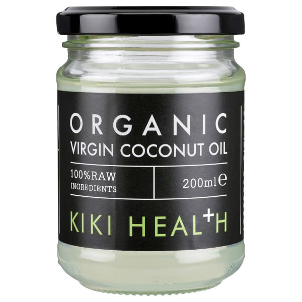 KIKI Health Organic Raw Virgin Coconut Oil 200ml