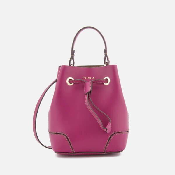 Furla Women's Stacy Mini Drawstring Bag - Pink