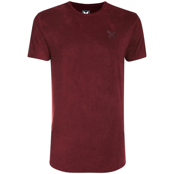 T-Shirt Homme Daim Essential Good For Nothing -Bordeaux
