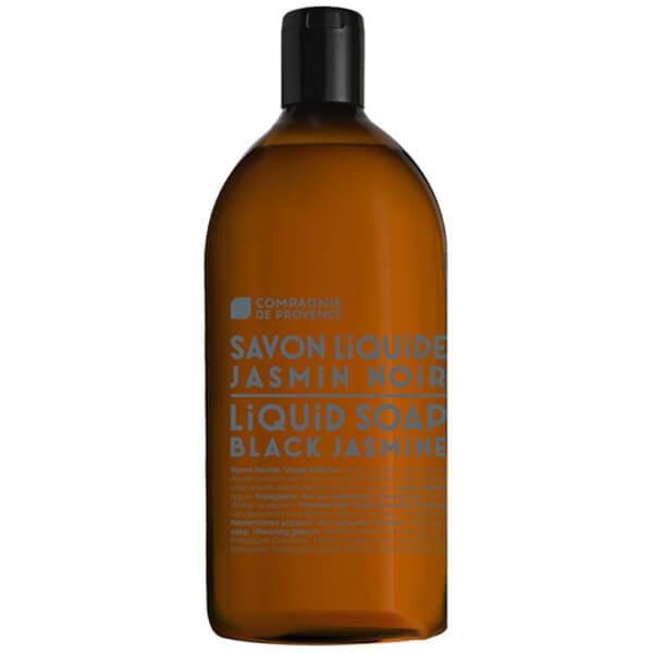 Compagnie de Provence Liquid Marseille Soap 1l Refill - Black Jasmine