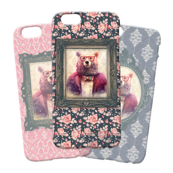 Bear Portrait Phone Case for iPhone and Android