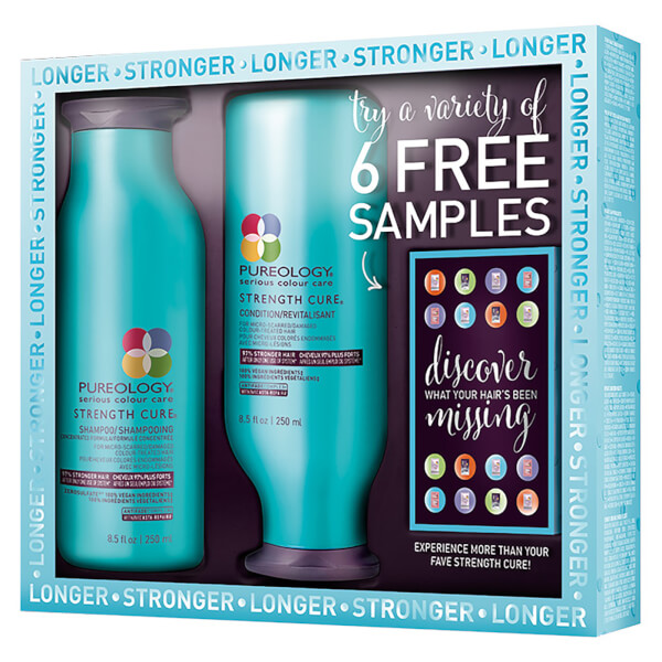 Pureology Strength Cure Bright Moments Kit