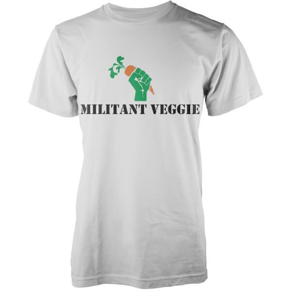 Militant Veggie T-Shirt - White