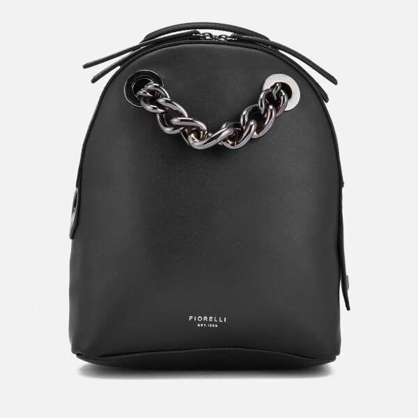 c8add93c27e4 Fiorelli Women s Anouk Small Backpack with Chain - Black Clothing ...