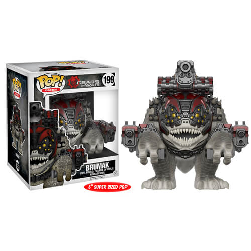 Figurine Funko Pop! Gears of War Brumak 15cm