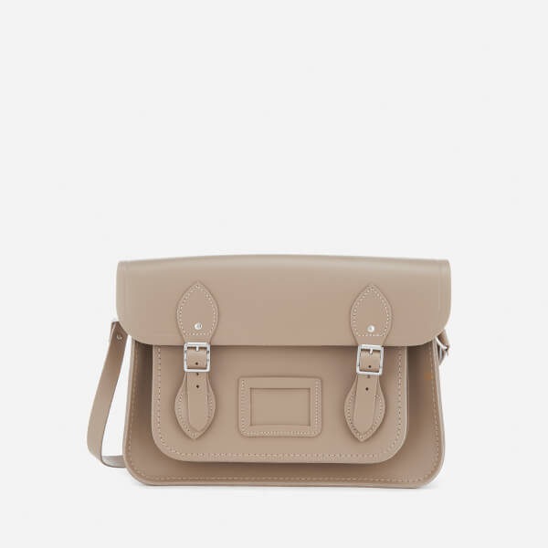 The Cambridge Satchel Company Women's 13 Inch Magnetic Satchel - Putty