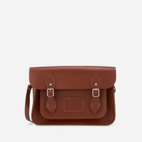 The Cambridge Satchel Company Women's 13 Inch Magnetic Satchel - Brandy