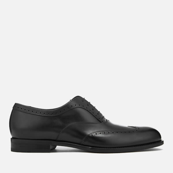 BOSS Hugo Boss Men's Manhattan Leather Brogues - Black