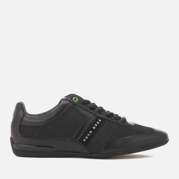 BOSS Green Men's Space Low Top Trainers - Black