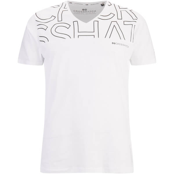 Crosshatch Men's Bellatrix T-Shirt - White