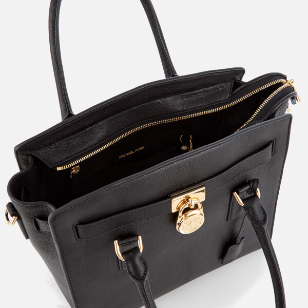 eadb36b993d68d MICHAEL MICHAEL KORS Women's Hamilton Large East West Satchel - Black:  Image 5