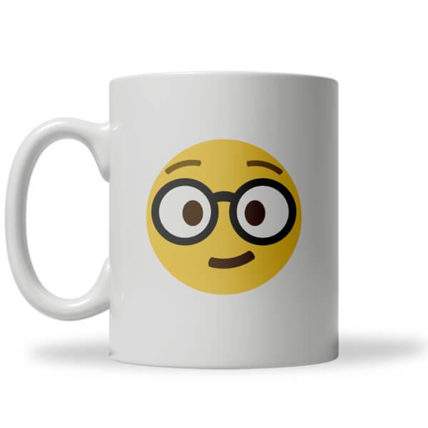 Nerd Emoji Mug
