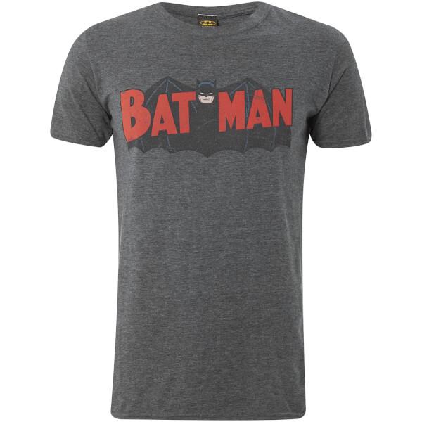 T-Shirt Homme DC Comics Retro Batman Bane - Gris