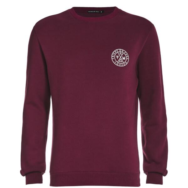 Friend or Faux Men's Tremer Sweatshirt - Burgundy
