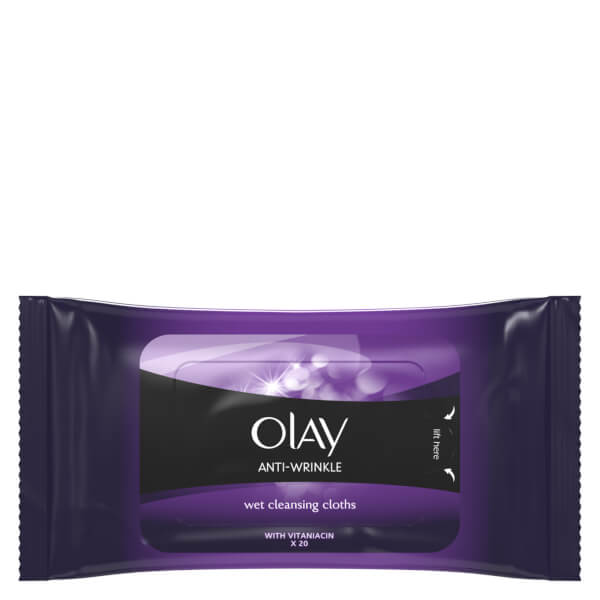 Olay Anti-Wrinkle Firm and Lift Anti-Ageing Cleansing Cloths 20 Wipes
