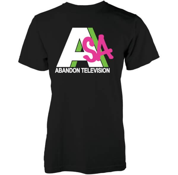 Abandon Ship Men's Abandon Television T-Shirt - Black
