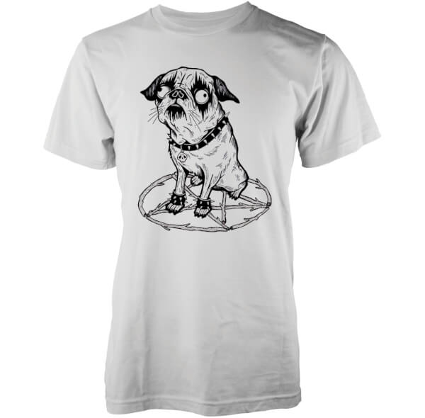 T-Shirt Homme Hell Hound Abandon Ship - Blanc